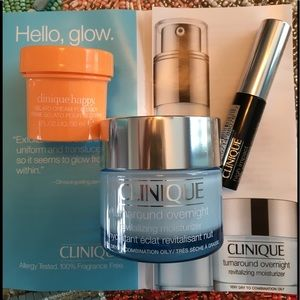 Clinique Turnaround Overnight 1.7 OZ + Extra Gifts
